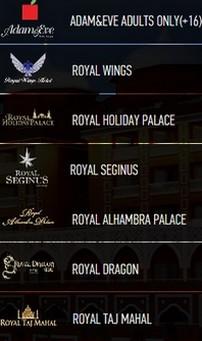 Royal Deluxe Hotel Aanbieding