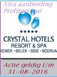 Crystal Deluxe Hotel Aanbieding