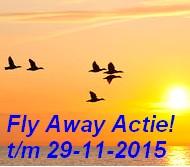 Vroegboekkorting & Fly Away