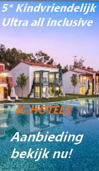 IC HOTELS ANTAYA/BELEK  AANBIEDING